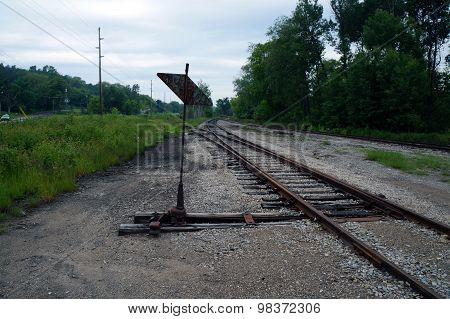 Railroad Switch and Point Indicator