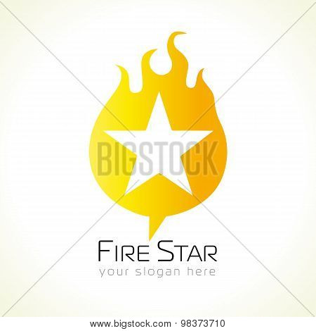 Fire star logo
