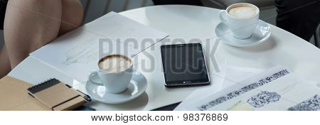 Table During Meeting