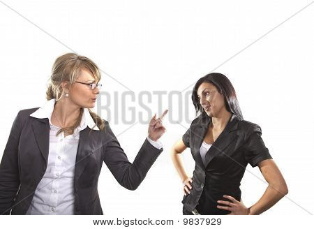 Angry Business Women
