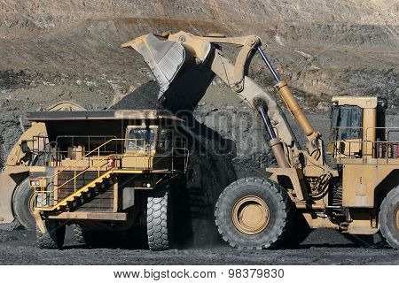 Mineral Excavation