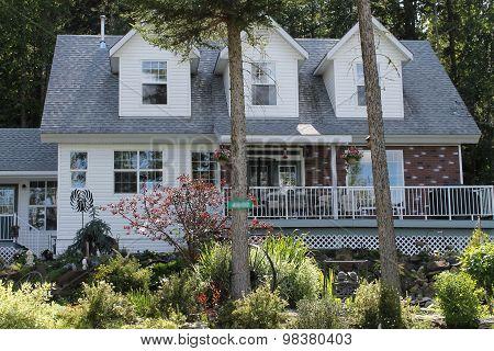 Large dormer windowed house