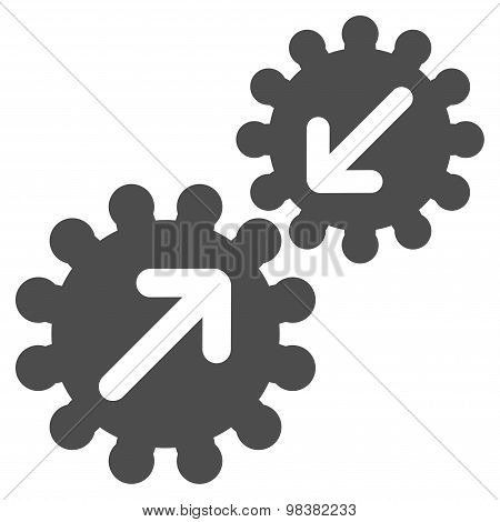 Integration icon from Business Bicolor Set
