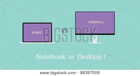Notebook vs pc desktop