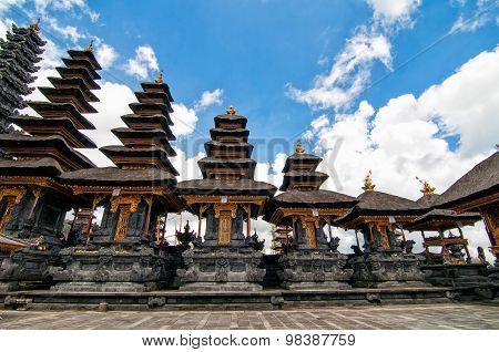 Besakih temple in Bali island, Indonesia