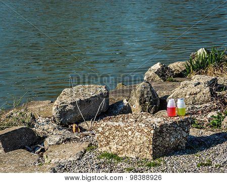 Litter on the Shore