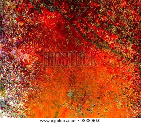 Abstract mixed media watercolor  background or texture created  with multiple layers of  mixed media elements.
