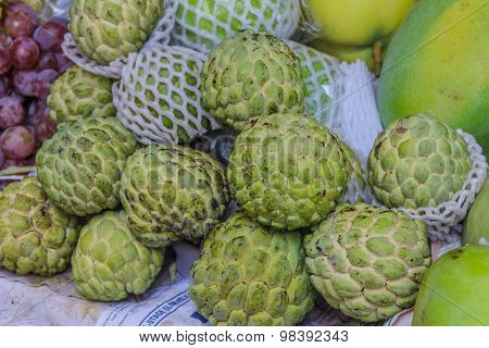 Cherimoya At The Market