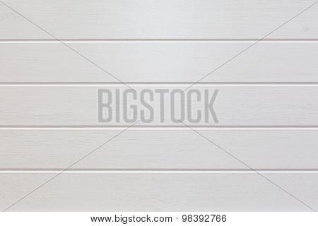 Empty White Wooden Planks Background