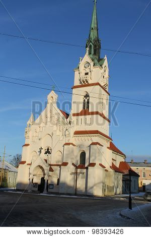 Church in Stryi, Lviv region