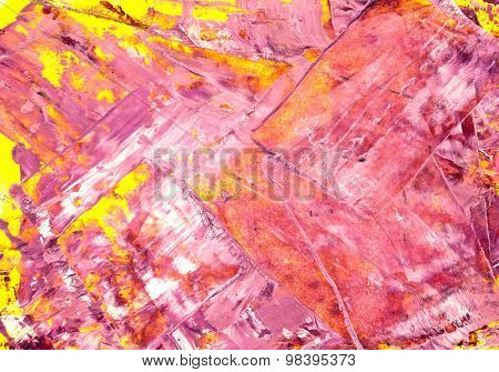 Abstract mixed media hand painted background or texture created  with multiple layers of  mixed media elements.