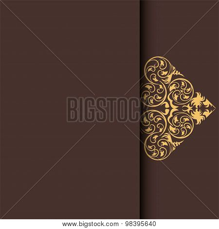 Ethnic Pattern. Abstract Greeting Card, Background