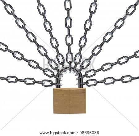 security lock.