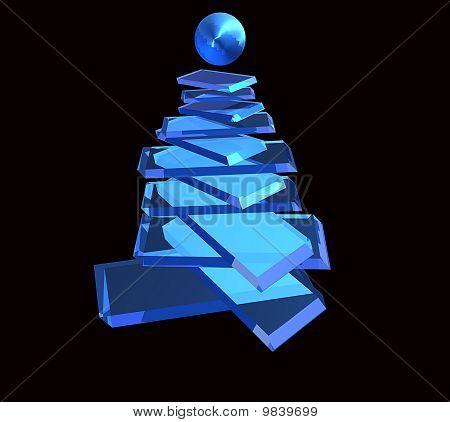 Árvore de Natal tecnológico