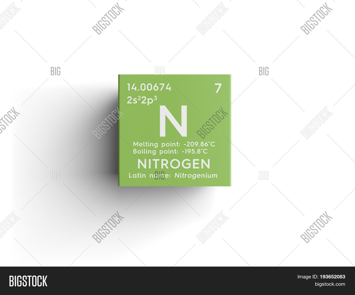 Nitrogen other nonmetals chemical element of mendeleevs nitrogen other nonmetals chemical element of mendeleevs periodic table nitrogen in square cube gamestrikefo Choice Image