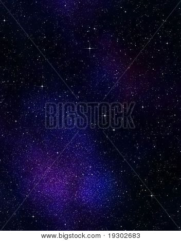 great image of space or a starry night sky