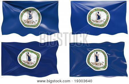 Great Image of the Flag of Virginia