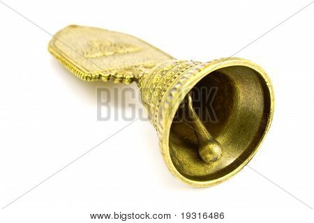 Shiny  Antique Hand Bell