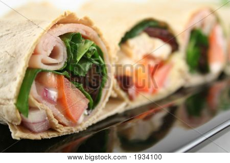 Mixed Wrap Platter 6