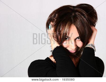 Hair Style Woman Portrait