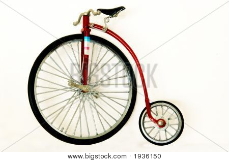 Replica Of A Vintage Bicycle