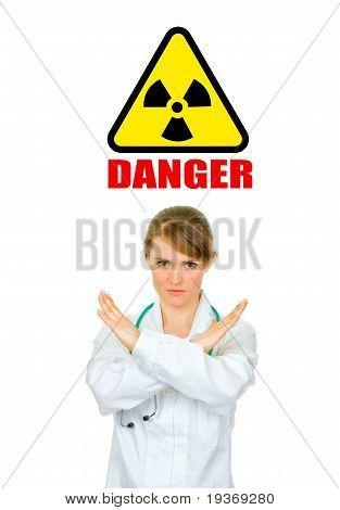 Concept-radiation hazard!