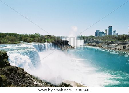 Niagra Falls On U.S. Side