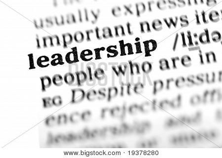 Leadership (the Dictionary Project)