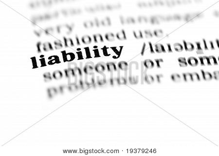 Liability (the Dictionary Project)