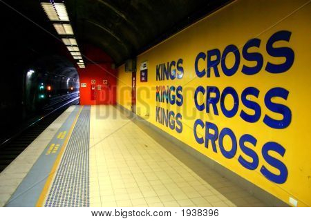 Sydney Underground Subway..