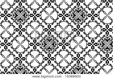 vector seamless wallpaper texture, high detail, more in my portfolio