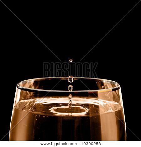 Drop of wine