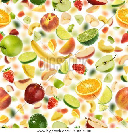 Seamless fruit pattern