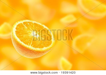 Falling oranges