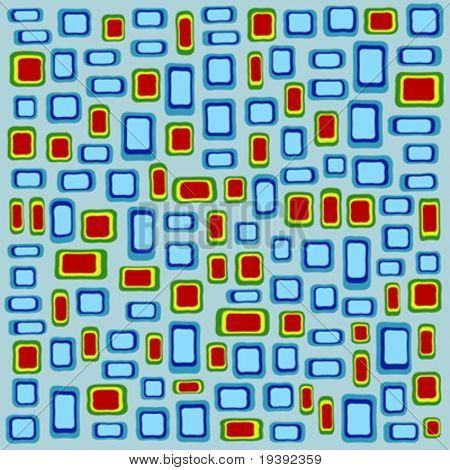 mit einteiliger gewebte Muster von 360 Grad kann verlängert werden