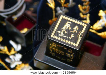 The Jewish religion.Tefilin