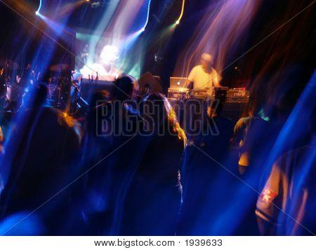 DJ en concierto
