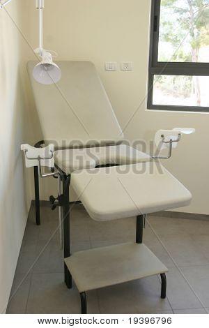 Gynecologic armchair. The medical center