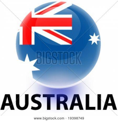 Orb Australia Flag