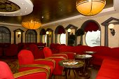 foto of cruise ship  - Magnificent interiors on cruise the ship - JPG