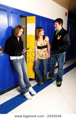 Students Hanging Out