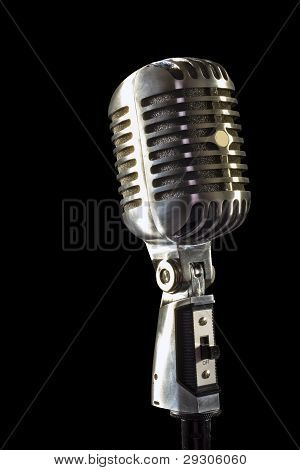 old fashoned mic