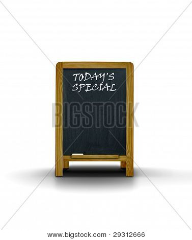 Restaurant Menu Board  Today's Special