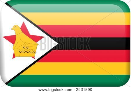 Zimbabwe Flag Button