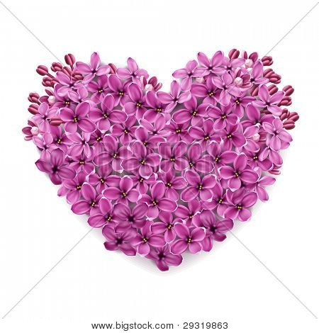 beautiful and fun hand drawn purple plasma or neon hearts