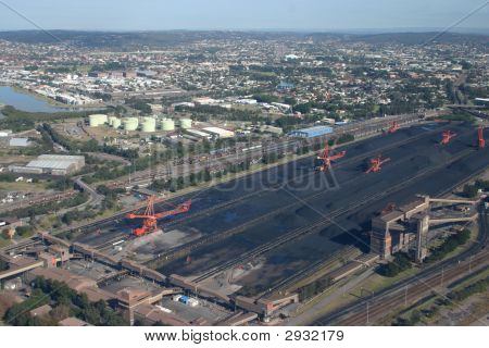 Coal Stacker - Newcastle Australia