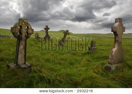 Ancient Celtic Graveyard