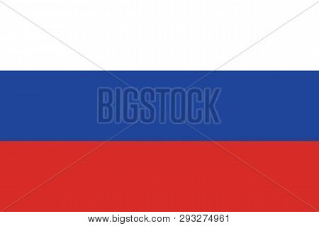 Russian Flag Vector Russia Flag