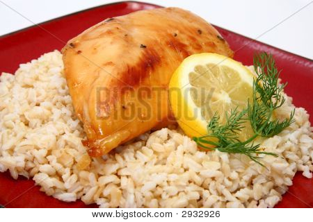 Lemonade Chicken And Brown Rice
