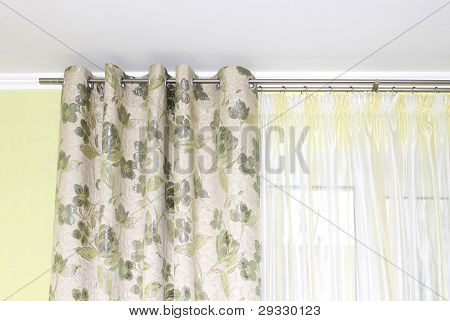 curtain close-up